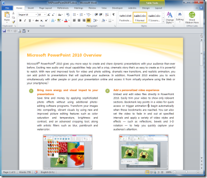 Office Web Apps better then Open Office for .docx on Linux « Tim ...