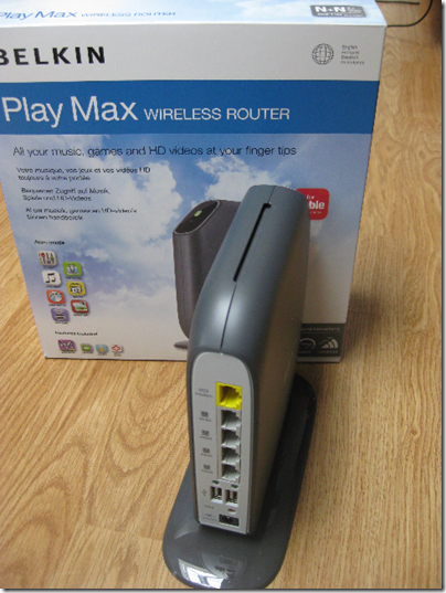 Review: Belkin Play Max F7D4301 wireless router | Tim