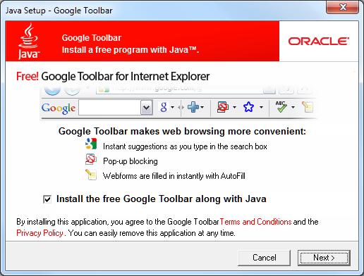 install google toolbar