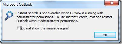 Setup error raises obscure Outlook error message | Tim