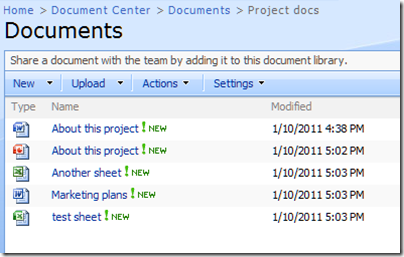 How to show file extensions in SharePoint 2007 document lists ...
