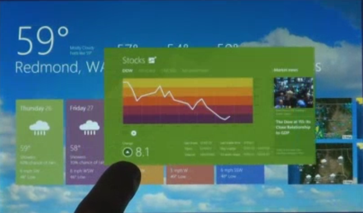 Check out these images of Windows 8 – but where is Silverlight