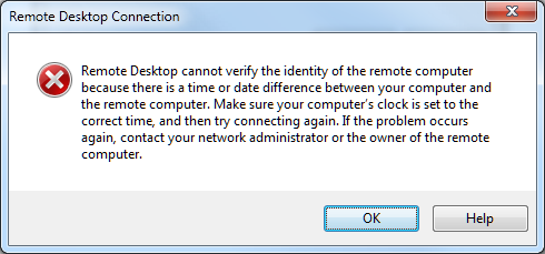 When remote desktop does not connect: changing Windows DNS
