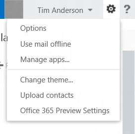 Offline web mail in new Office 365 and Exchange 2013 Outlook Web