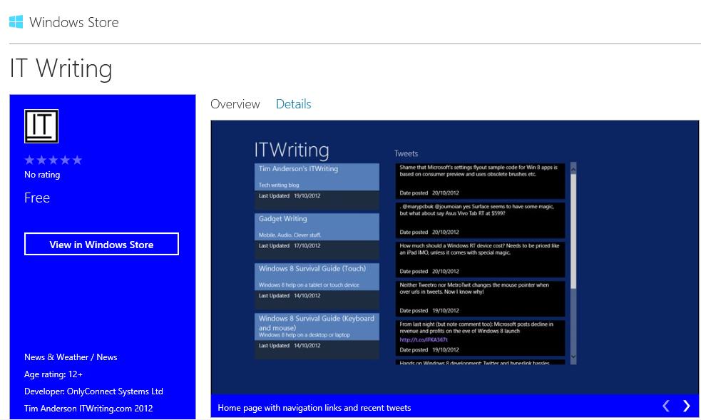 windows 8 tablet handwriting app