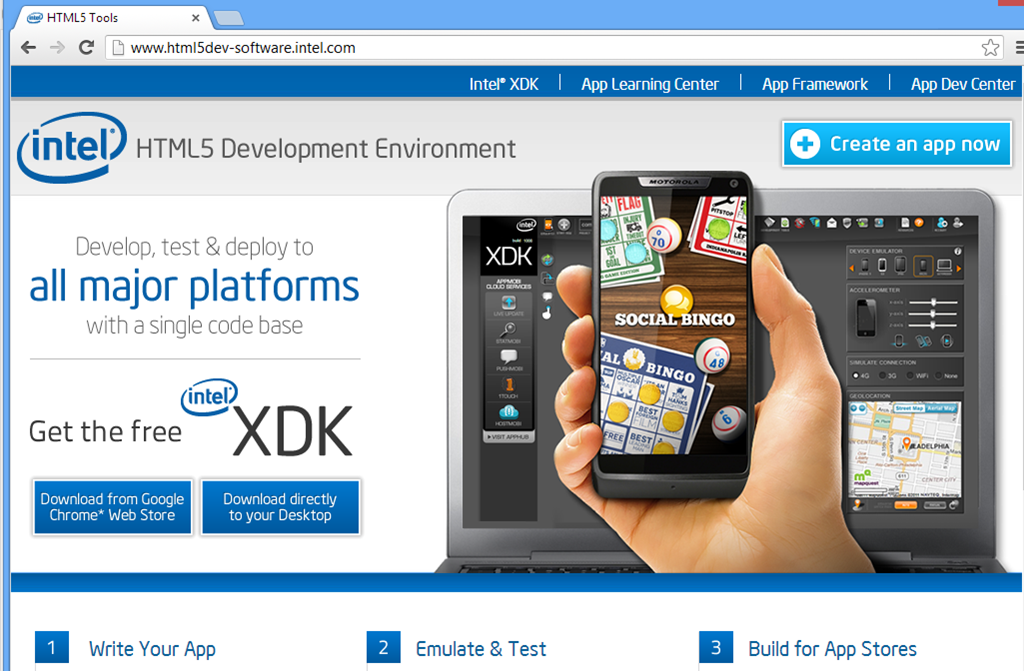 Intel fights back against iOS with free tools for HTML5 cross
