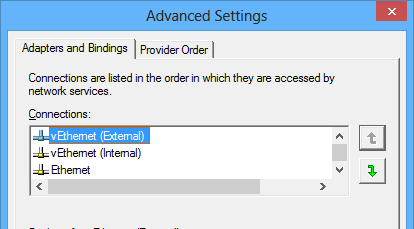 Fixing slow network or wi-fi in Windows 8 with Hyper-V | Tim