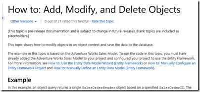 Should you use Entity Framework for  NET applications? | Tim