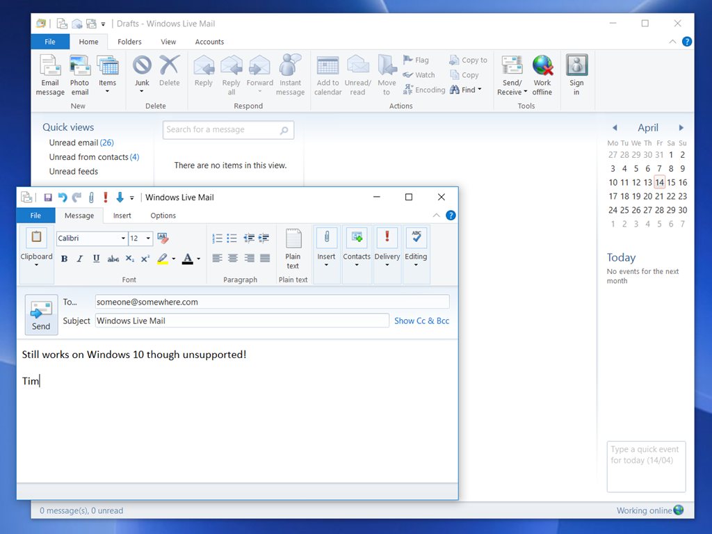 Email hassles with migration to Windows 10 – if you use