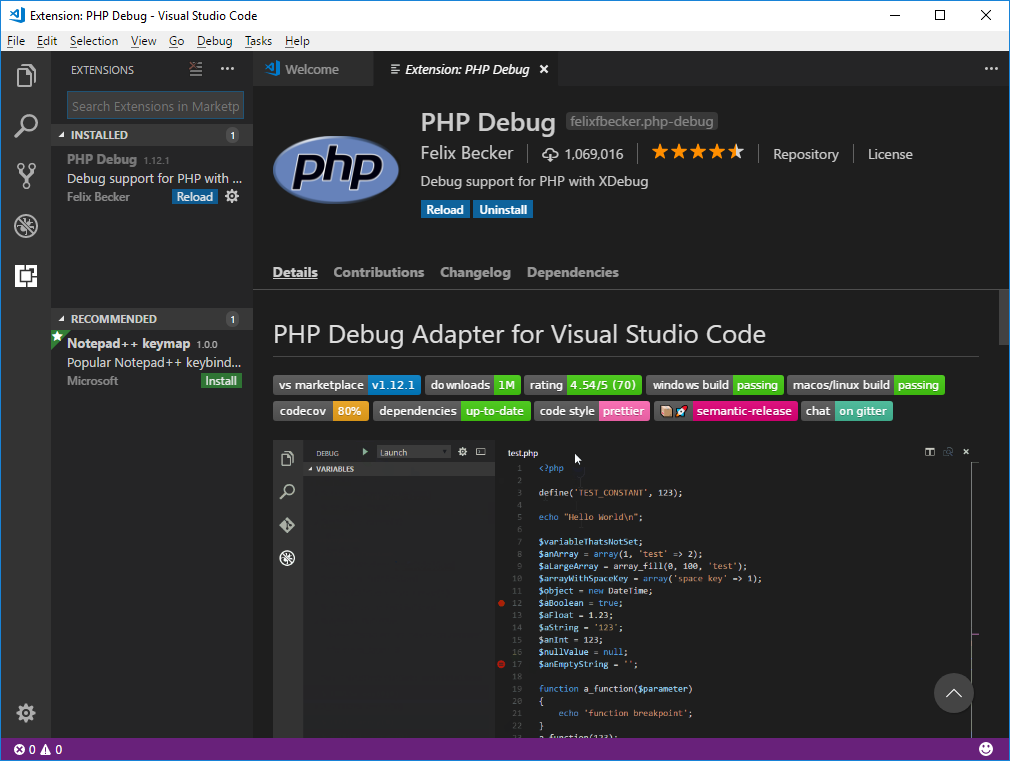 Setting up PHP for development on Windows Subsystem for Linux in