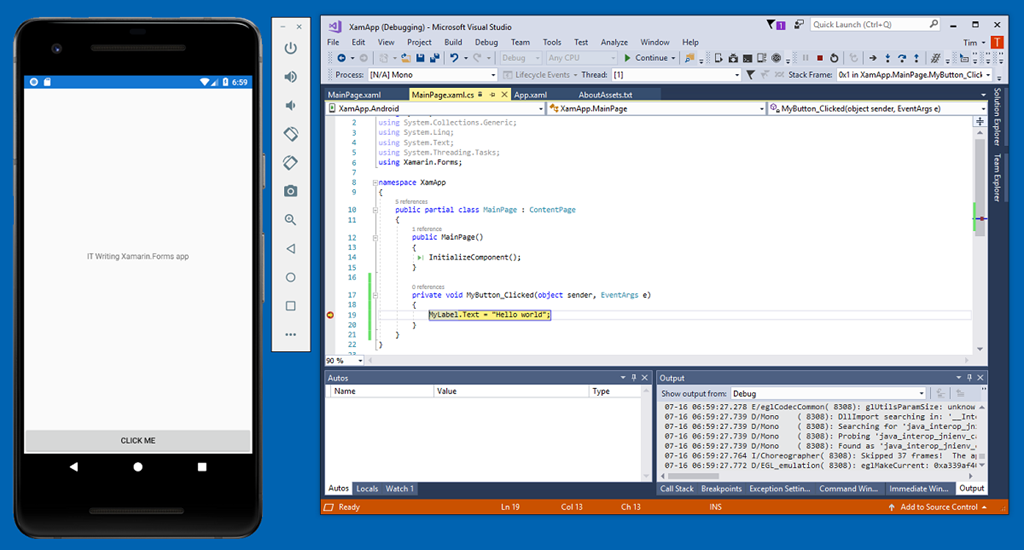 Configuring the Android emulator for Hyper-V | Tim