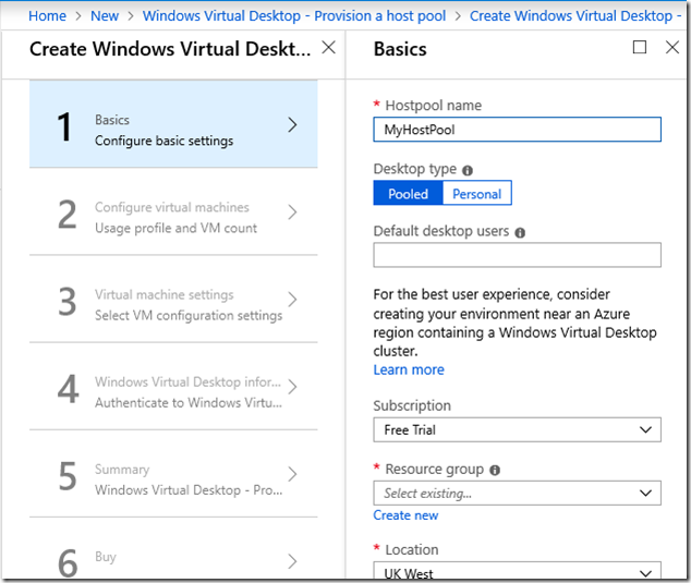 Hands on with Windows Virtual Desktop | Tim Anderson's IT Writing